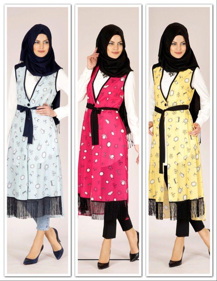 ALVİNA '15 Yaz Kreasyonu 4695 Verso Yelek 105.00 ₺, www.alvinaonline.com'da.. #alvina #alvinamoda #alvinafashion #alvinaforever #hijab #hijabstyle #hijabfashion #tesettür #fashion #stylish #newcollection #vest #yelek #rengarenk