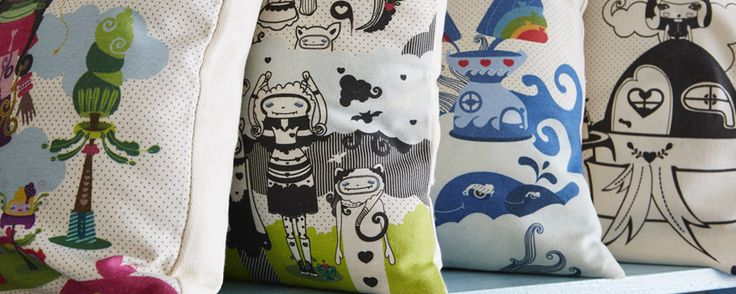 These pillows could create world peace.