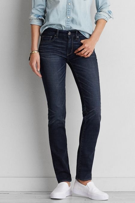 AEO Straight Jeans, Women's, Size: 20 Long, Up All Night