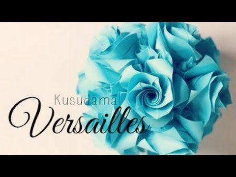 Versailles Kusudama by Krystyna Burczyk   Go Origami!
