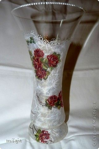 Розы в моих работах :) Декупаж