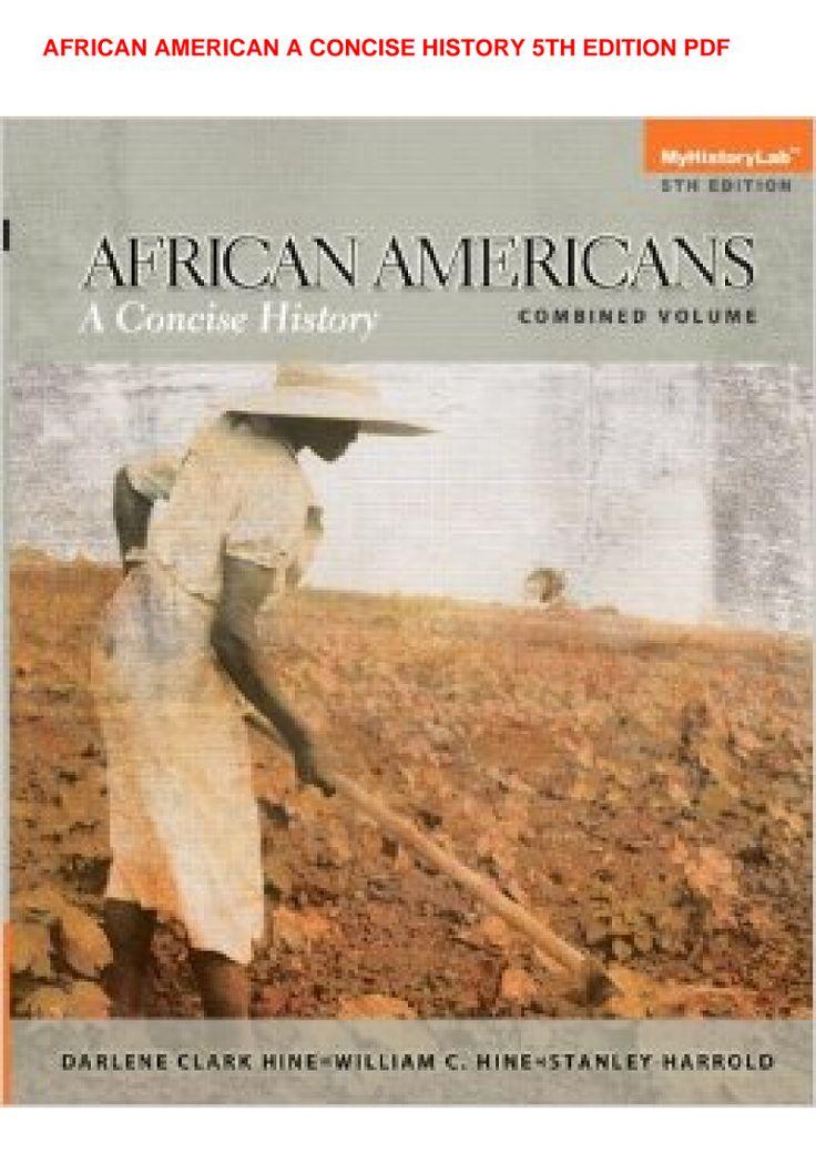 african american odyssey 5th edition pdf