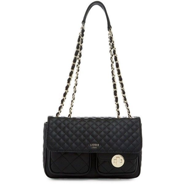 9cdfcfba4d9c Guess Wilson Shoulder Bag ( 95) ❤ liked on Polyvore featuring bags ...
