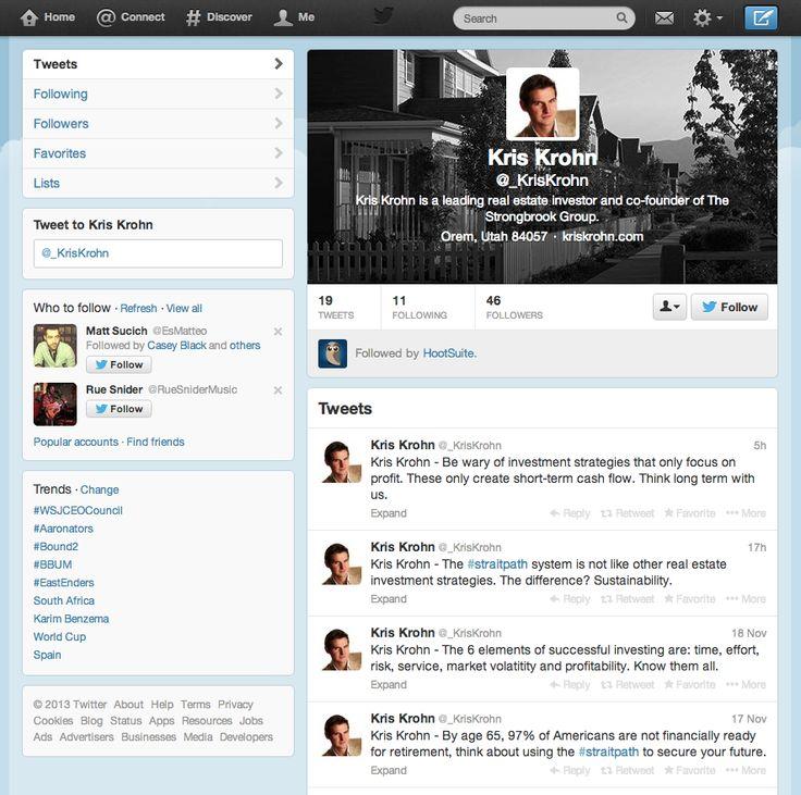 Kris Krohn Twitter