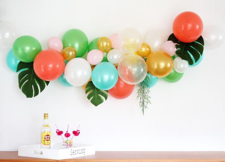 DIY   Ballongirlande   DIY-Kit   Zubehör   Ballonarch   Luftballons   Hochzeit   Party   Sommerparty   Gartenparty   www.benbino.com