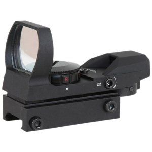Aim Sports Tactical Dual Ill. 4 Different Reticles-Special Ops Edition (Small, Black)