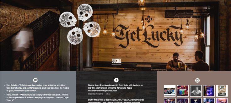 Dropkick Murphys: Banding and Conceptual Development by Electrik Design Agency www.electrik.co.za/