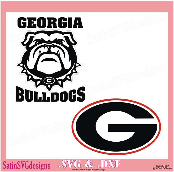 Georgia Bulldogs 2017 Sec Champions >> Georgia Bulldog Svg Pictures to Pin on Pinterest - ThePinsta