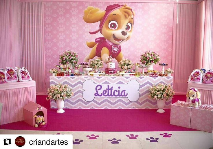 """90 Likes, 3 Comments - Criand'artes Decorações (@criandartes) on Instagram: """"Retrospectiva 2016 #Repost @criandartes with @repostapp ・・・ Patrulha Canina para Letícia…"""""""