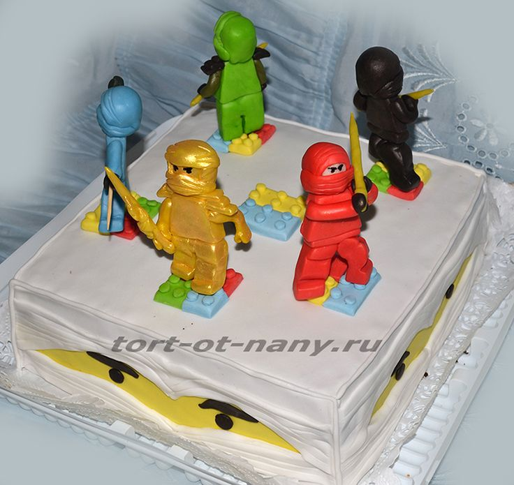 Торт Лего НиндзяГо - Lego NinjaGo cake