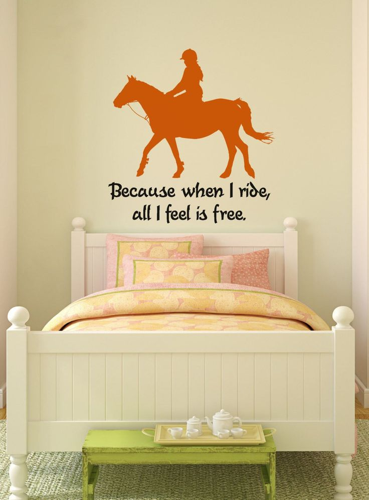 Horse-Horse decal-Horse quote sticker-Horse wall decor-28 X 30 inches