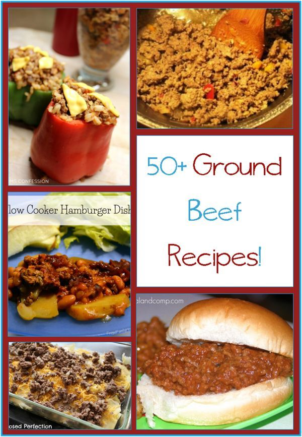 Over 50 Beef Dinner Recipes - From patties and meatloaf to soup, stew, and casseroles. On pizza or wrapped in breads, one of these over 50 hamburger meat recipes are sure to please you and your family!