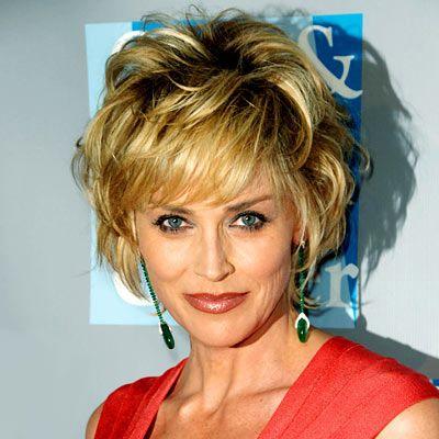 Sharon Stone - 2009 - Sharon Stone - Transformation - Hair - InStyle