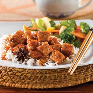 Mijoté de porc à la chinoise - Recettes - Cuisine et nutrition - Pratico Pratique