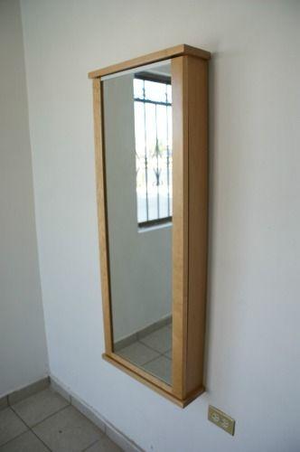 Vanity closet organizador de accesorios espejo y alhajero for Espejo joyero xxl