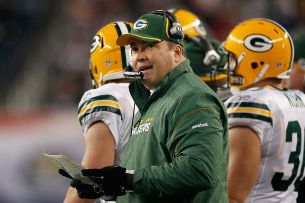 Green Bay Packers | Mike McCarthy Mike McCarthy, head coach of the Green Bay Packers ...