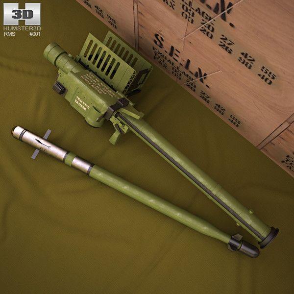 Fim 92 Stinger Fim 3D 3Ds - 3D Model