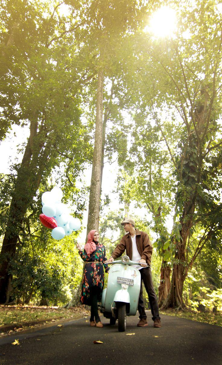 vanue : Kebun Raya Bogor - indonesia inspiration prewedding