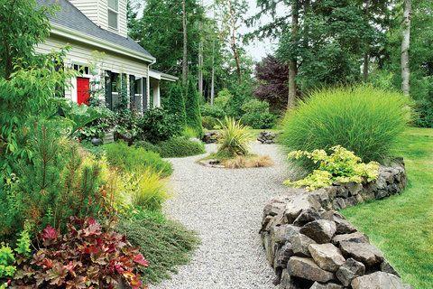 How To Landscape Gravel Gravel Landscaping Garden Design Home