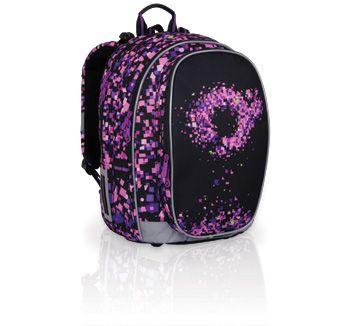 Plecak szkolny od 3 do 6 klasy. Bardzo pojemny z niestandardowym designem, który nie jest dziecinny, a bardziej poważny.