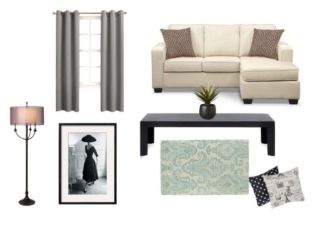 """Modern Lounge"" by tanyaprinsloo09 on Polyvore featuring interior, interiors, interior design, home, home decor, interior decorating, Kartell, CB2, Sun Zero and Thumprints"
