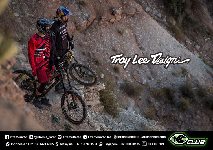Tom Van Steenbergen & Brandon Semenuk | RedBullRampage 2017 | Troy Lee Designs MTB 2017 Collections available now in all XClub Stores |   #xtremerated #xclub #tldbike #mtb #downhill #gravity