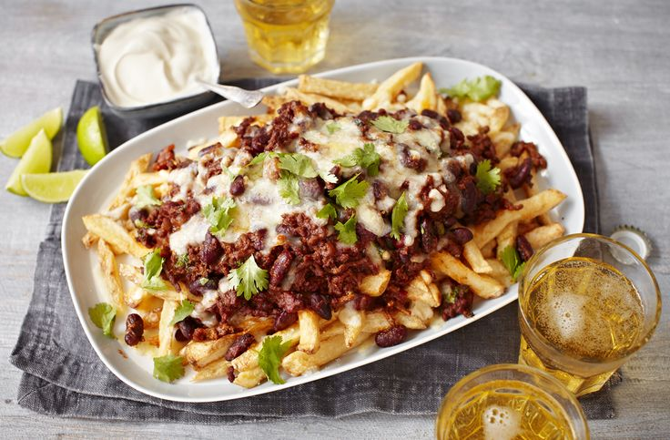 Chilli cheese fries   Tesco Real Food