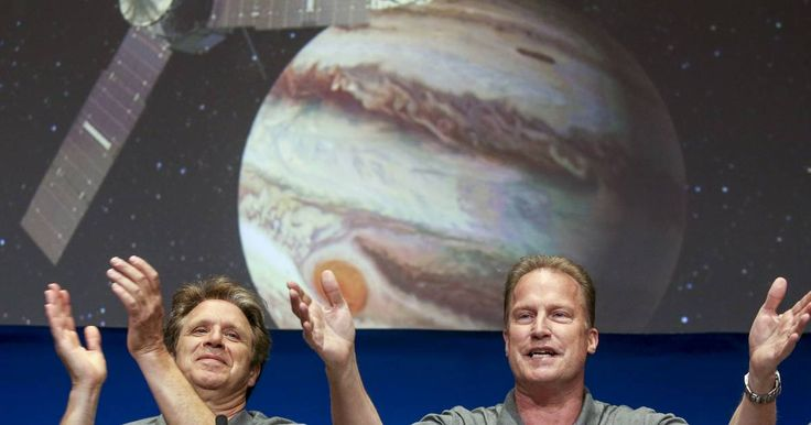 """The First Image From NASA's """"Juno"""" Jupiter Probe Is Finally Here"""
