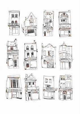 Petites maisons... A redessiner