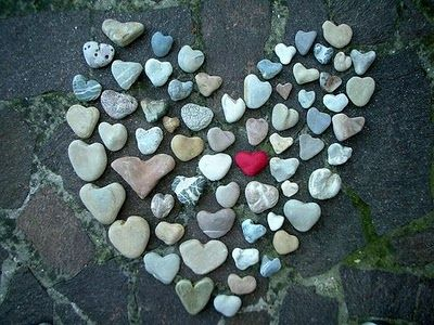 Natural Heart Shaped Rock Collection