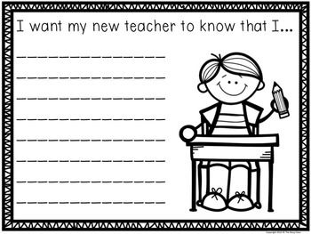 Back to School Writing Prompts (1st-3rd) - 30 writing prompts to keep students engaged and on task during those first few weeks.