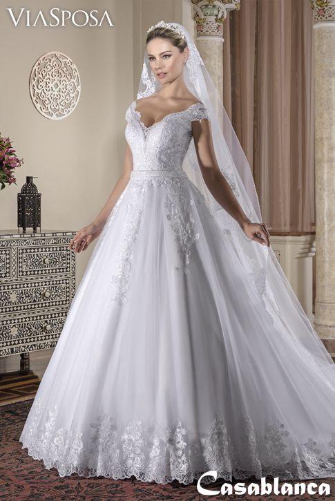 vestido de noiva via sposa coleção casablanca 25 / vestido rodado