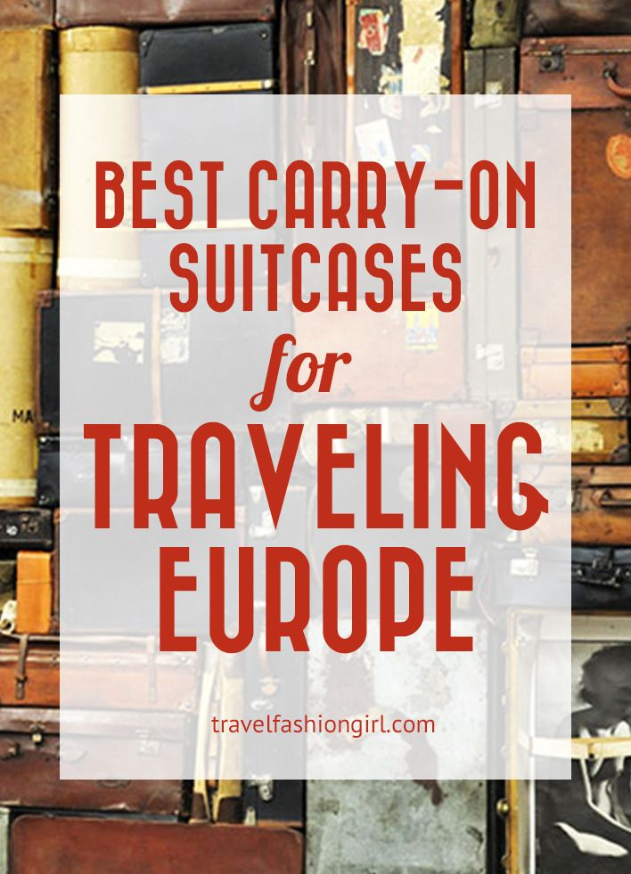 If you find this post on best carry-on suitcases for traveling Europe useful, please share with your friends on Facebook, Twitter and Pinterest. Thanks for reading!