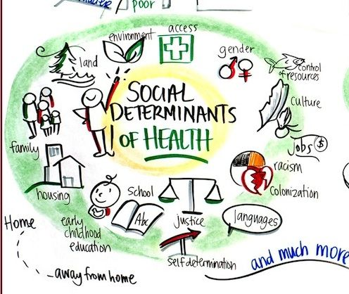 social determinants of health                                                                                                                                                                                 More