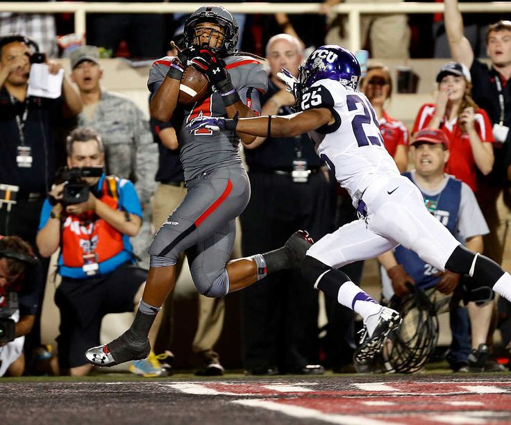 He's so exciting to watch!  Great hands! Bradley Marquez makes impact in Texas Tech win, not only in catching game-winning TD