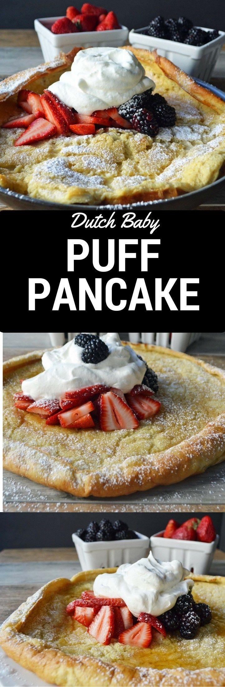 Dutch Baby Puff Pancake by Modern Honey