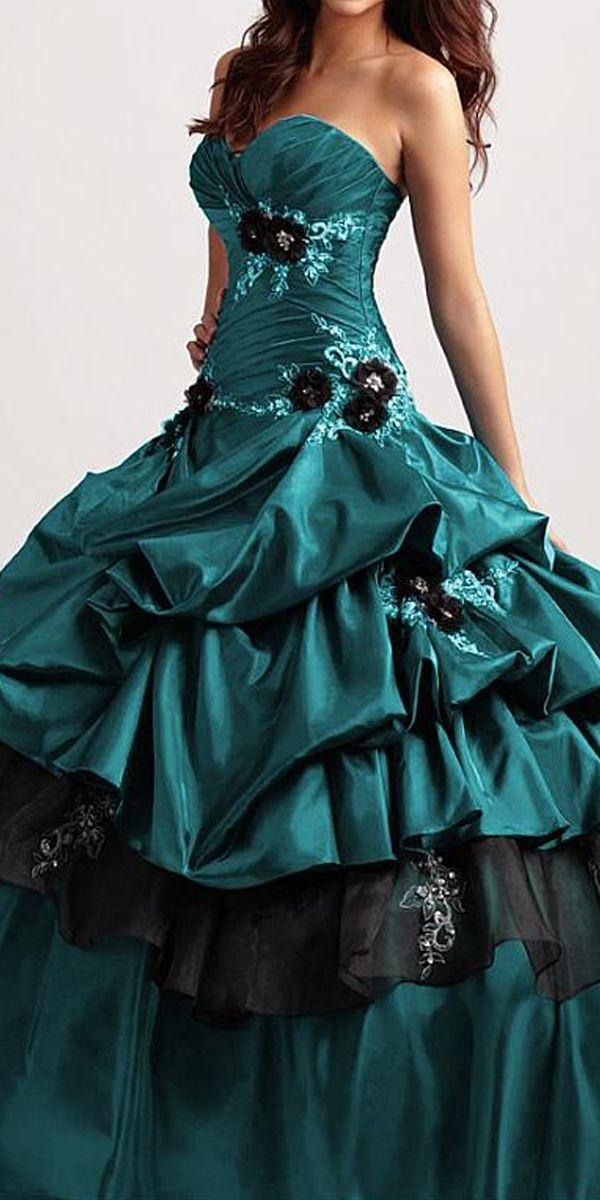 Stunning Taffeta Organza Sweetheart Occasion Dress In 2020