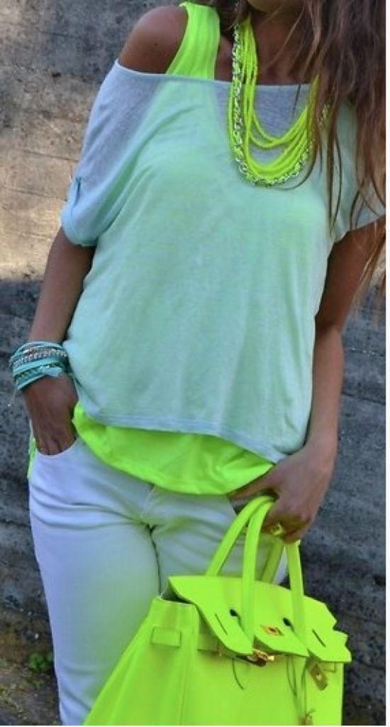 How to wear Summer NEON http://momgenerations.com/2013/06/fashion-alert-how-to-wear-summer-neon/ #fashion