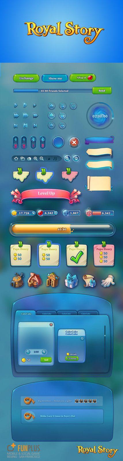 Royal Story-ui, FunPlus Game on ArtStation at https://www.artstation.com/artwork/zQw2q