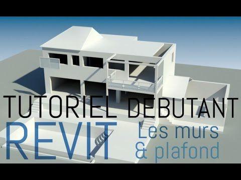 ★ Tutoriel Revit Archi | Construction murs & plafond ★ - YouTube