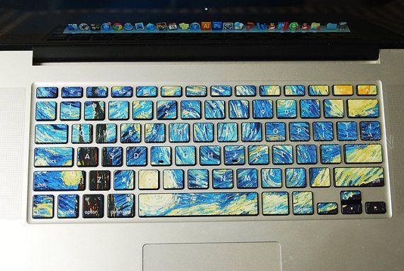 keyboard decal MacBook decal MacBook air sticker MacBook ...