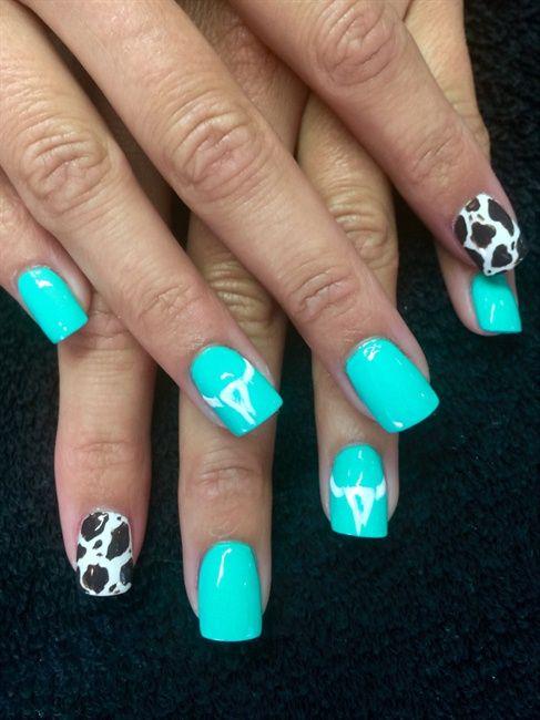 country girl - nail art