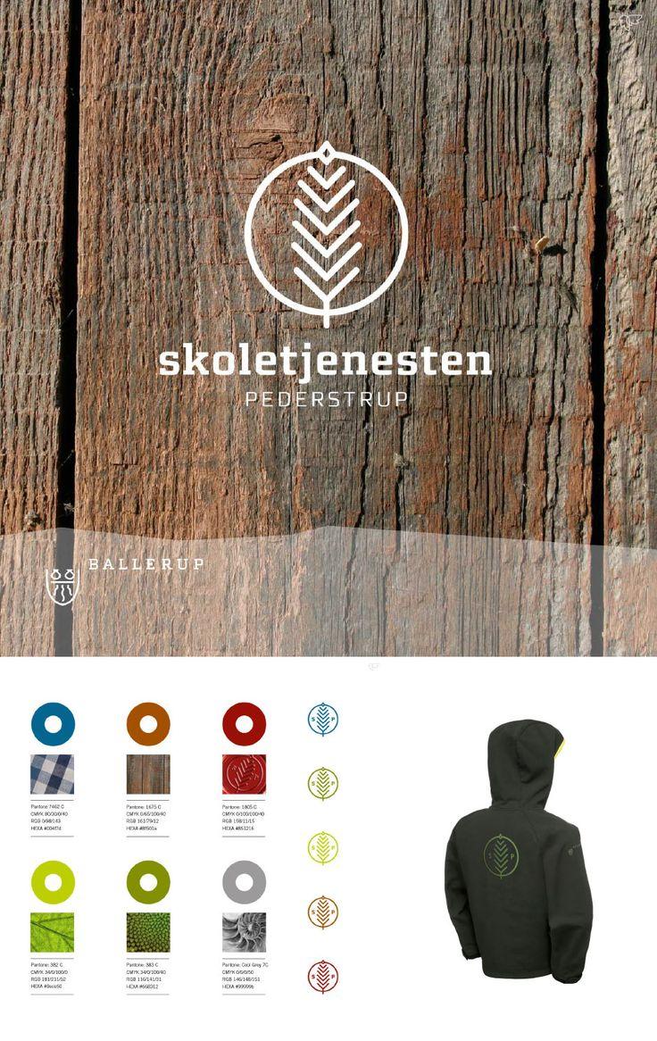 Skoletjenesten Pedersterup i Ballerup Kommune – Logo og identitet