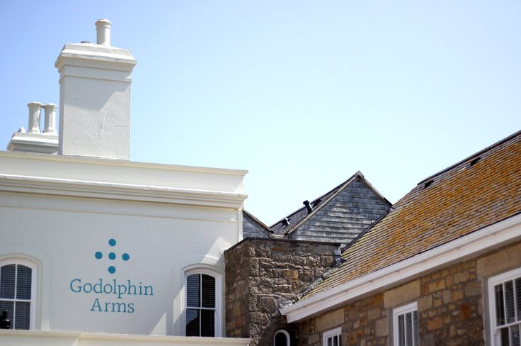 Branded signage by Nixon for the Godolphin Arms in Marazion