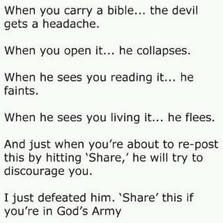 Bible and the Devil