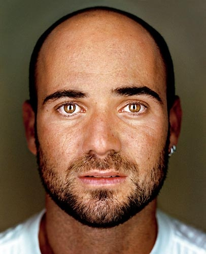 Andre Agassi by Martin Schoeller
