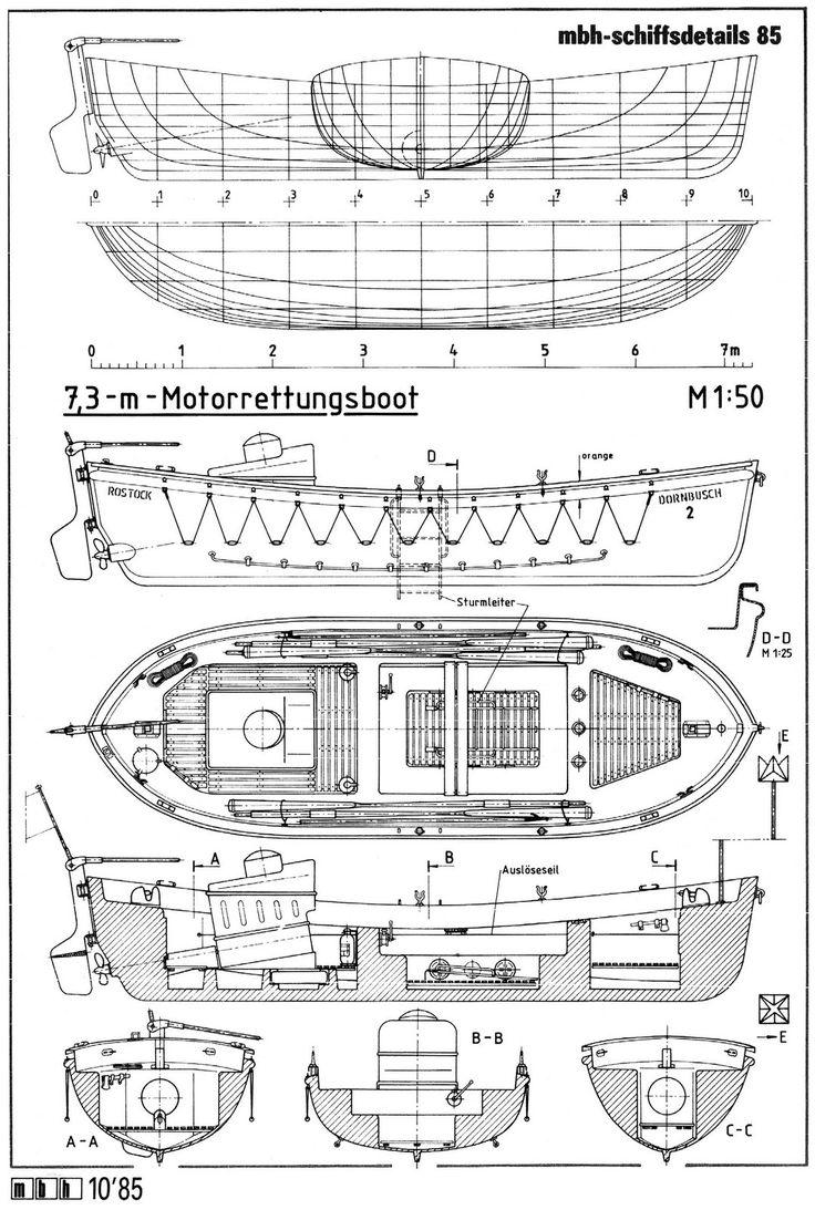 Free Boat Blueprints - Bing Images