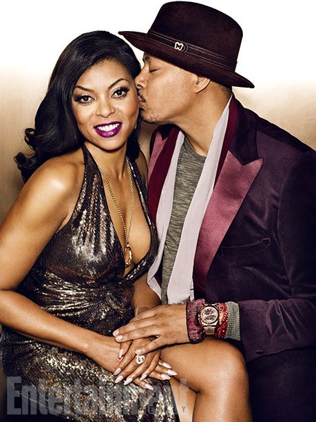 'Empire' Cast Portraits and Behind-the-Scenes Photos | Taraji P. Henson and Terrence Howard | EW.com