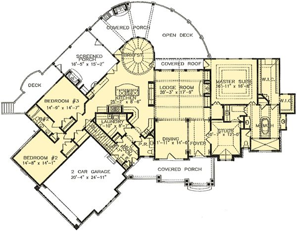 17 best images about nantahala cottage on pinterest for Large craftsman house plans