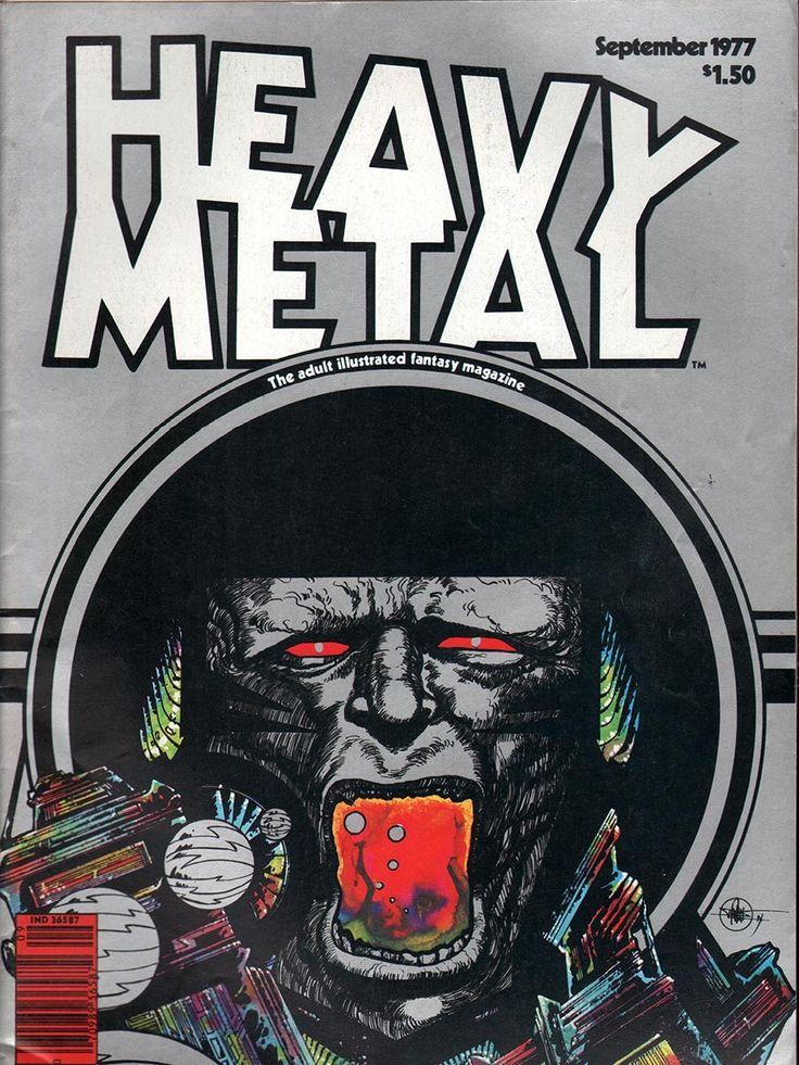 Heavy Metal September 1977 - EphemeraForever.com